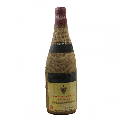 Vino Rioja Siglo Cosecha 1959