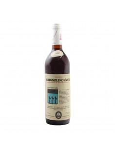 GRIGNOLINO D'ASTI 1980 CANTINE LANZAVECCHIA Grandi Bottiglie