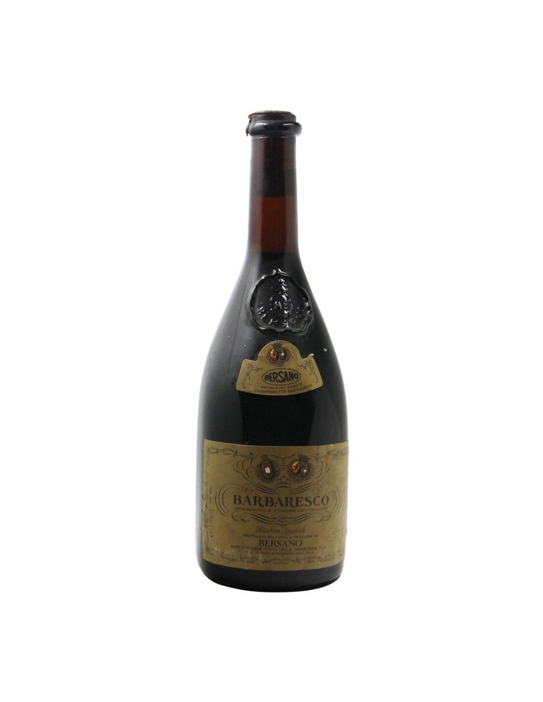 BARBARESCO PODERE CREMOSINA 1974 BERSANO Grandi Bottiglie