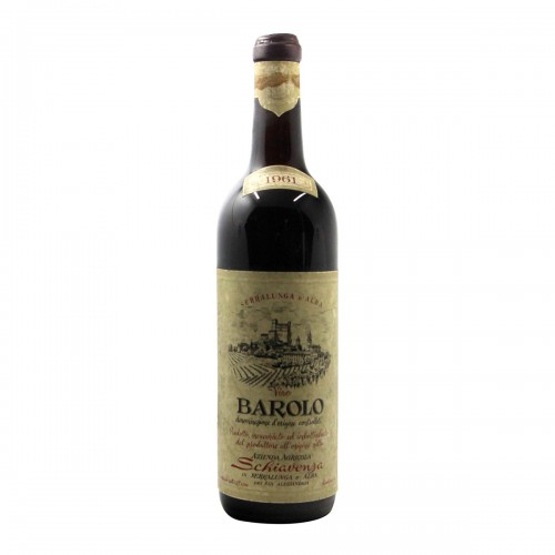 BAROLO 1961 SCHIAVENZA Grandi Bottiglie