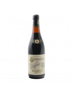 BARBARESCO RISERVA SPECIALE 1980 ROSSELLO Grandi Bottiglie