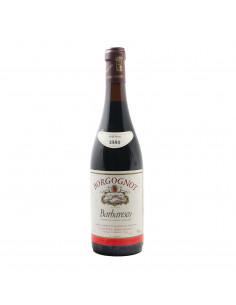BARBARESCO RISERVA 1980 BORGOGNOT Grandi Bottiglie