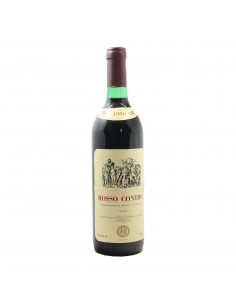 ROSSO CONERO 1980 COOPERATIVA DELLE MARCHE Grandi Bottiglie