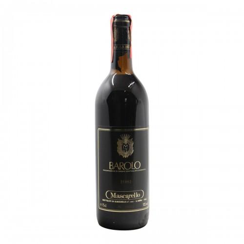 BAROLO 1981 M. MASCARELLO E FIGLI Grandi Bottiglie