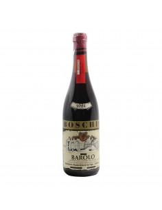 BAROLO 1981 BOSCHIS FRANCESCO Grandi Bottiglie