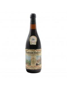 BARBERA DEL MONFERRATO 1981 ERMENELGILDO LEPORATI Grandi Bottiglie