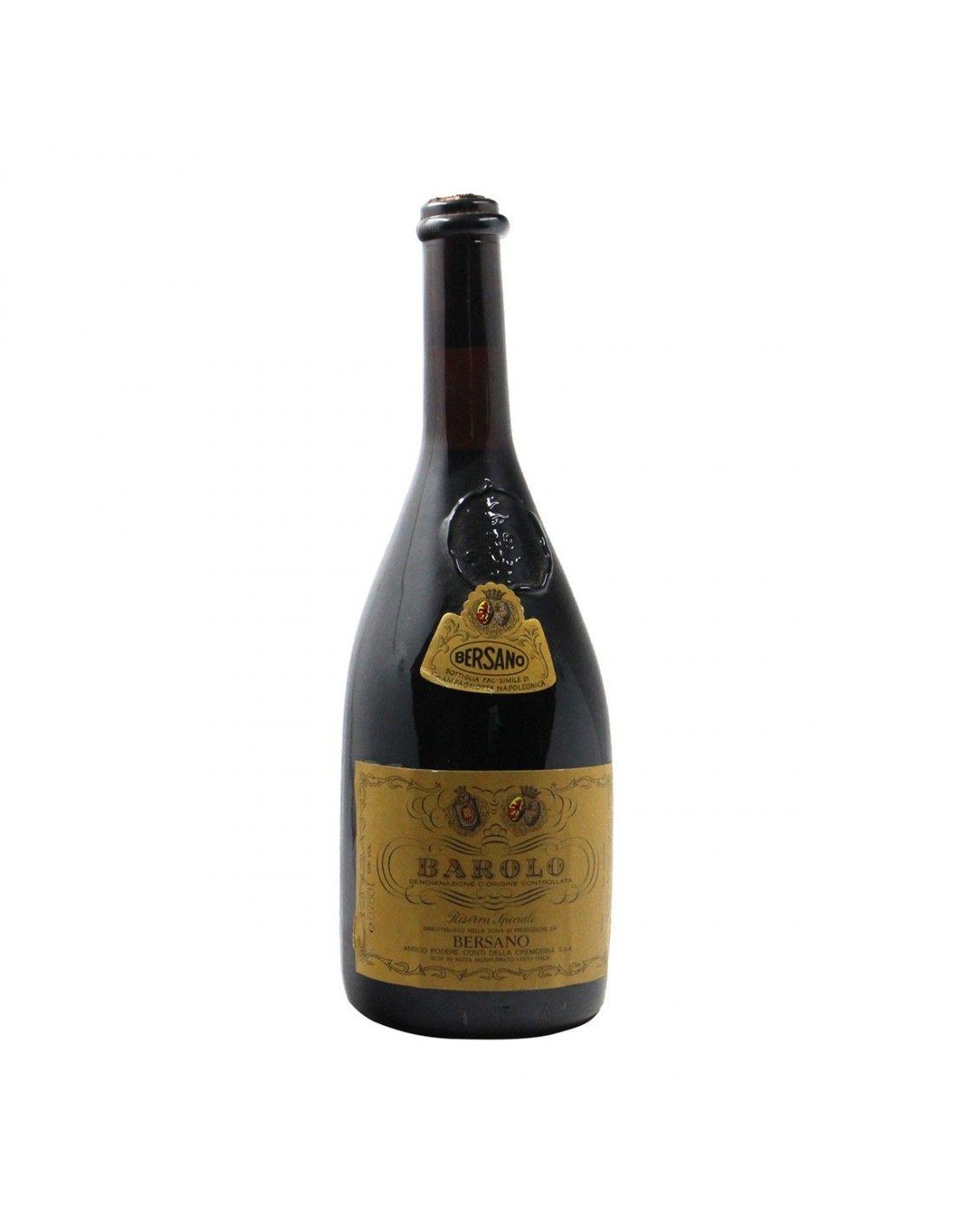 BAROLO RISERVA SPECIALE 1974 BERSANO Grandi Bottiglie