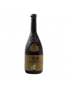 BAROLO CONTI CREMOSINA 1958 BERSANO Grandi Bottiglie