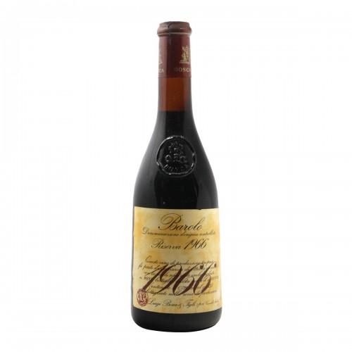 BAROLO RISERVA 1966 LUIGI BOSCA Grandi Bottiglie