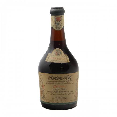 BARBERA D'ASTI 0.50 L 1982 BERSANO Grandi Bottiglie