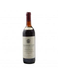 GRIGNOLINO ASTI 1982 BERAUDO Grandi Bottiglie