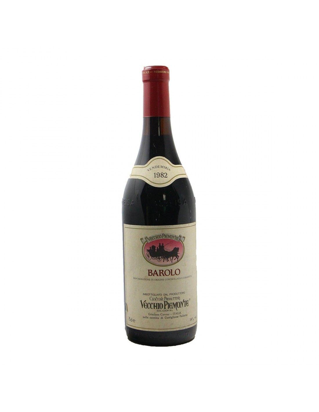 BAROLO 1982 VECCHIO PIEMONTE Grandi Bottiglie