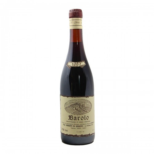 BAROLO 1982 VIBERTI FU GIUSEPPE Grandi Bottiglie
