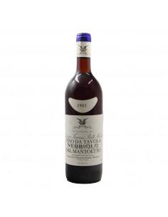 NEBBIOLO DEL MANTOETTO 1983 FRACASSI Grandi Bottiglie