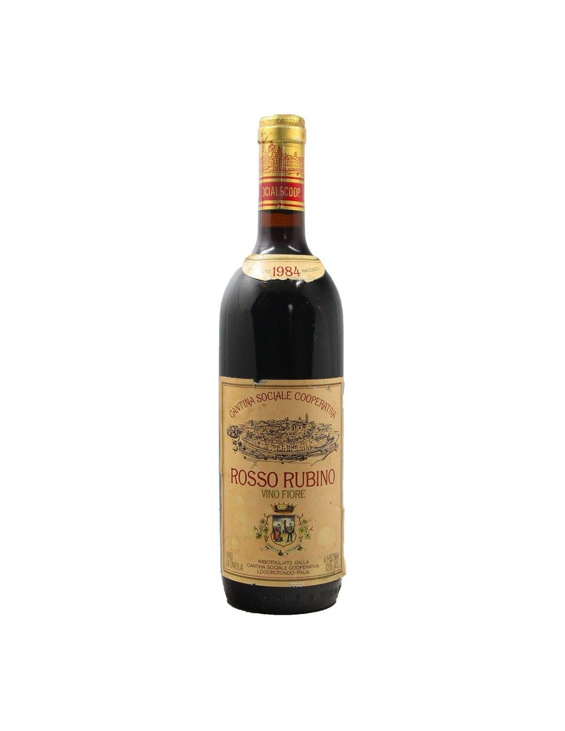 ROSSO RUBINO 1984 COOPERATIVA LOCOROTONDO Grandi Bottiglie