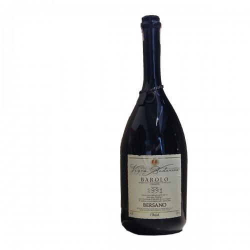 BAROLO BADARINA DOUBLE MAGNUM 1991 BERSANO Grandi Bottiglie