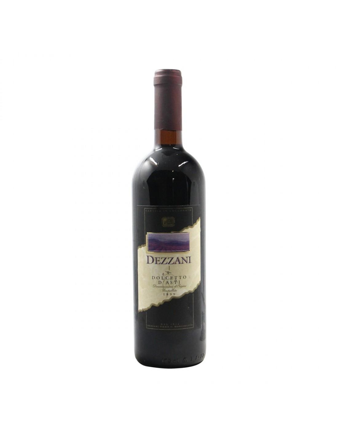 DOLCETTO D'ASTI 1999 DEZZANI Grandi Bottiglie