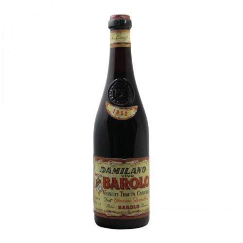 Barolo Cannubi 1952 DAMILANO GRANDI BOTTIGLIE
