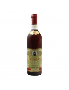 FIVE ROSES 1988 LEONE DE CASTRIS Grandi Bottiglie