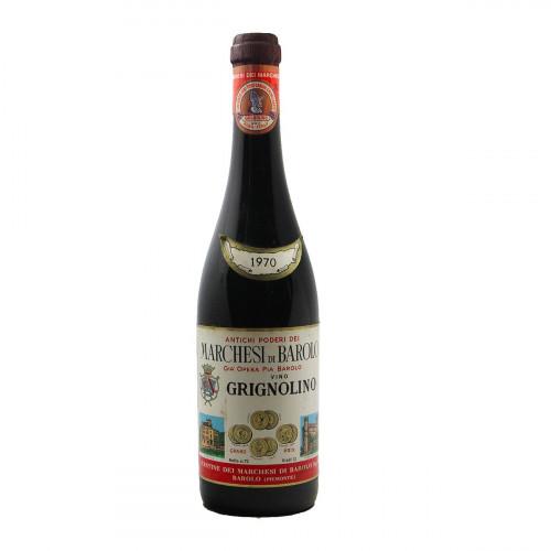 GRIGNOLINO 1970 MARCHESI DI BAROLO Grandi Bottiglie