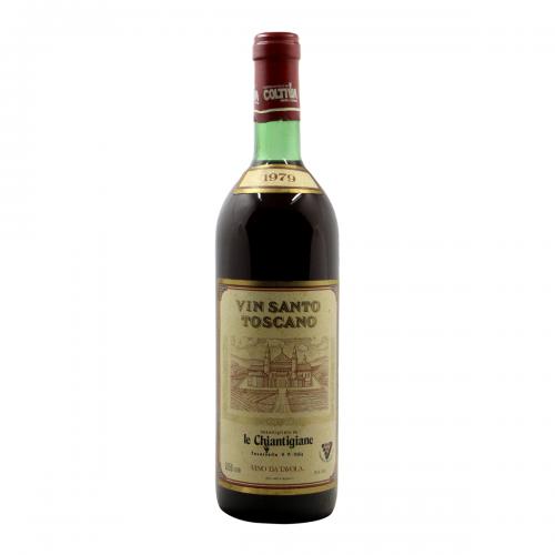 VIN SANTO TOSCANO 1979 LE CHIANTIGIANE Grandi Bottiglie
