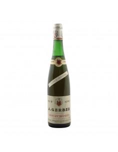 GEWURZTRAMINER 1975 JACQUES GERBER Grandi Bottiglie