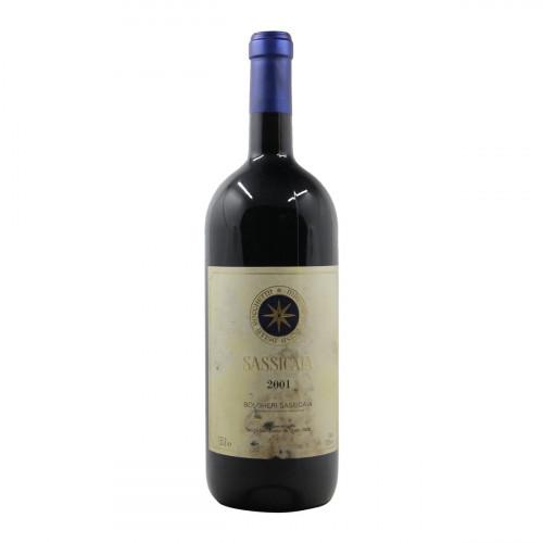 SASSICAIA MAGNUM ET ROVINATA 2001 TENUTA SAN GUIDO Grandi Bottiglie