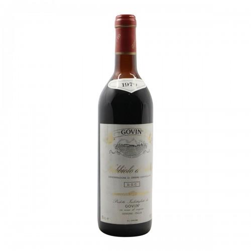 NEBBIOLO D'ALBA 1979 GOVIN Grandi Bottiglie