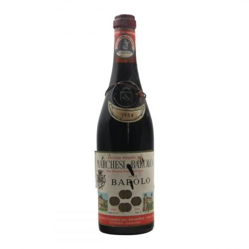 Marchesi di Barolo Barolo 1958 Grandi Bottiglie