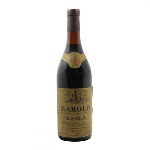 BAROLO 1970 KIOLA Grandi Bottiglie