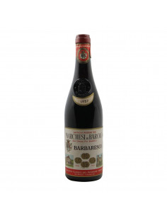 BARBARESCO CLEAR COLOR 1957 MARCHESI DI BAROLO Grandi Bottiglie