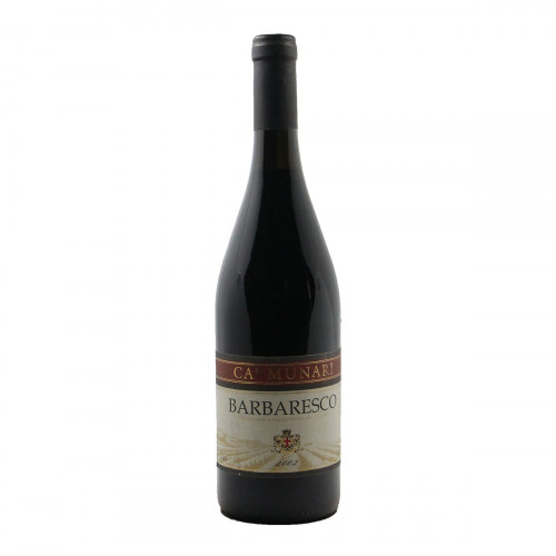 BARBARESCO 2002 CA MUNARI Grandi Bottiglie