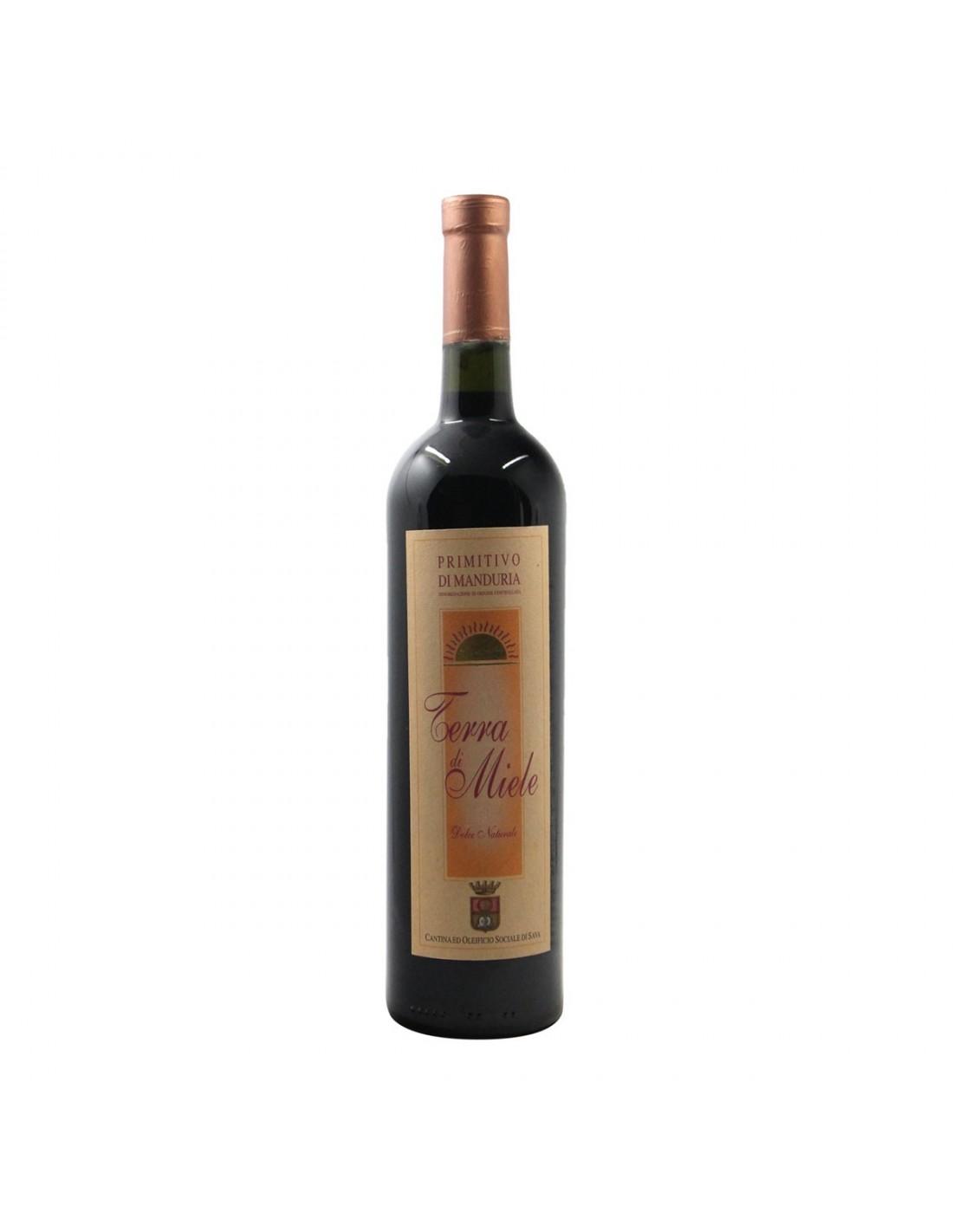 PRIMITIVO DOLCE DI MANDURIA 1996 CANTINA SOCIALE DI SAVA Grandi Bottiglie
