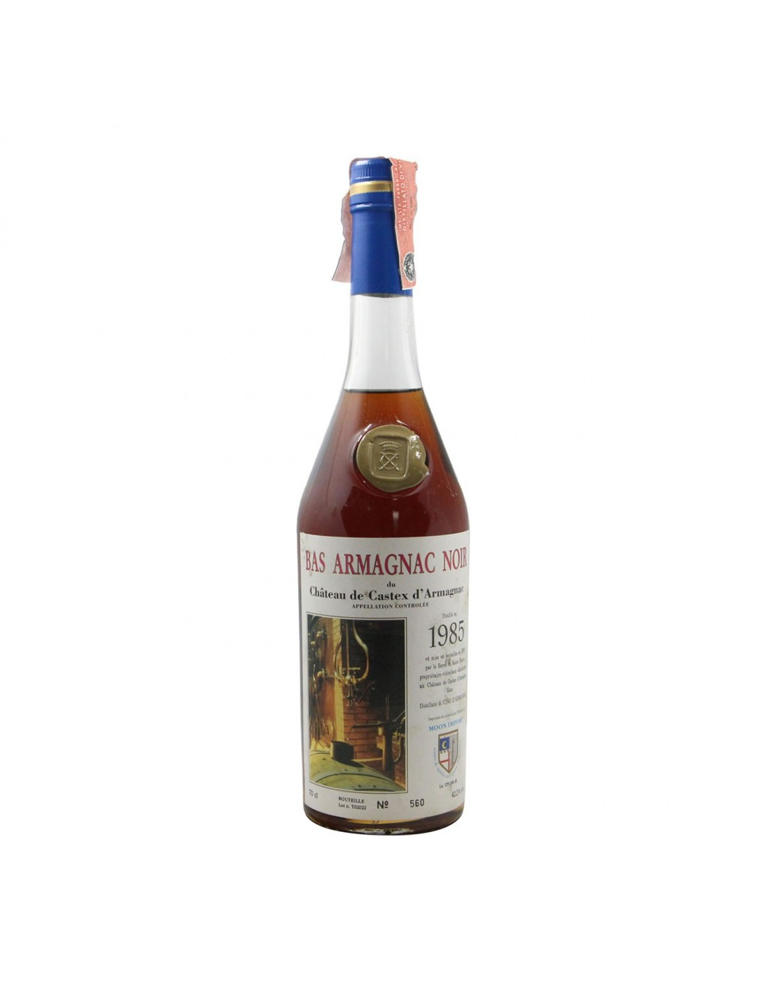 BAS ARMAGNAC NOIR 1985 CHATEAU DE CASTEX Grandi Bottiglie