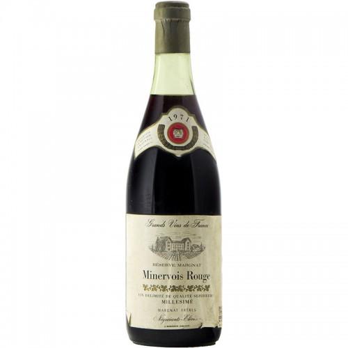 Minervois Rouge 1971 MARGNAT FRERES GRANDI BOTTIGLIE