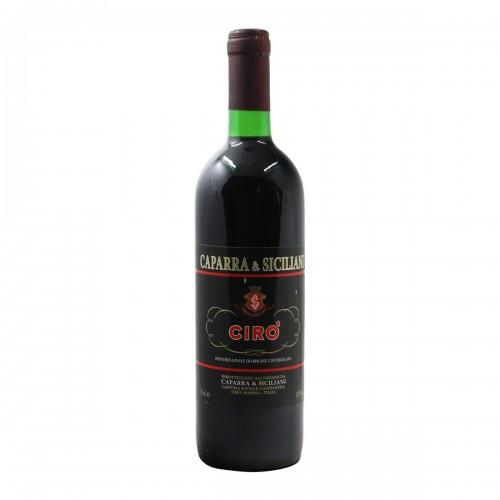 CIRO' 1995 CAPARRA & SICILIANI Grandi Bottiglie