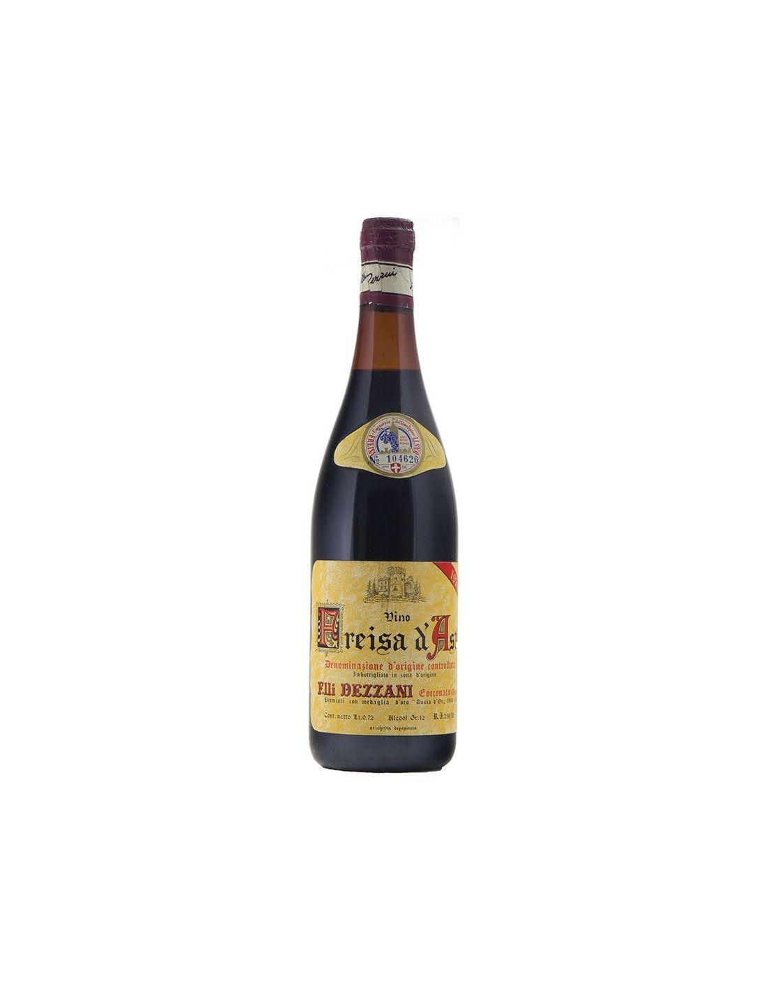 FREISA D'ASTI 1974 DEZZANI Grandi Bottiglie