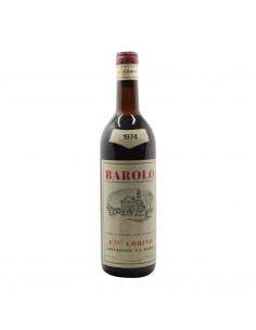 BAROLO 1974 CORINO Grandi Bottiglie