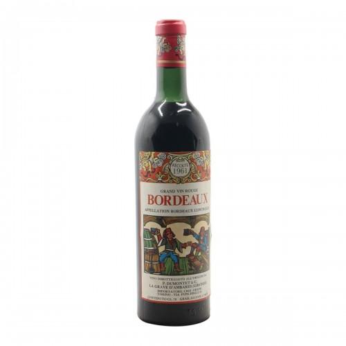 Bordeaux 1961 PIERRE DUMONTET GRANDI BOTTIGLIE