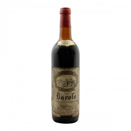 BAROLO 1967 ROSSELLO Grandi Bottiglie