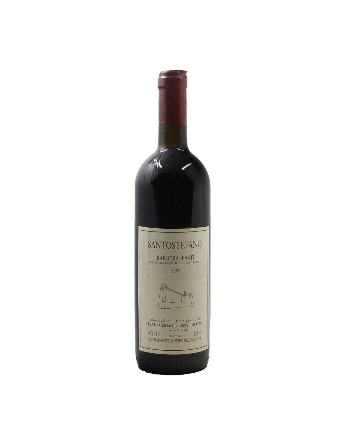 BARBERA D'ASTI 1997 CANTINA SOCIALE DI ROCCA D'ARAZZO Grandi Bottiglie