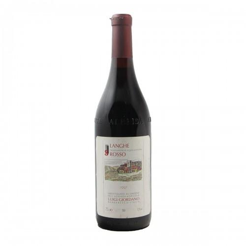 LANGHE ROSSO 1997 LUIGI GIORDANO Grandi Bottiglie
