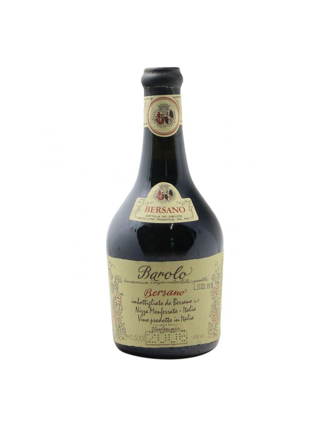 BAROLO 0.5 L 2006 BERSANO Grandi Bottiglie