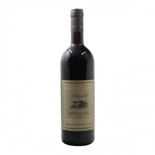 BARBERA D'ALBA MATTARELLO 2005 CASTELLO DI NEIVE Grandi Bottiglie