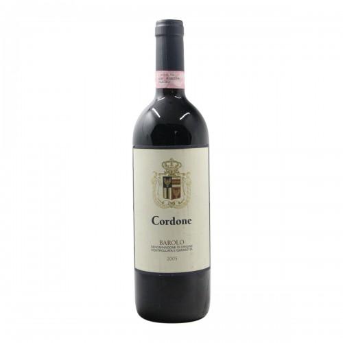 BAROLO CORDONE 2005 TERREDAVINO Grandi Bottiglie