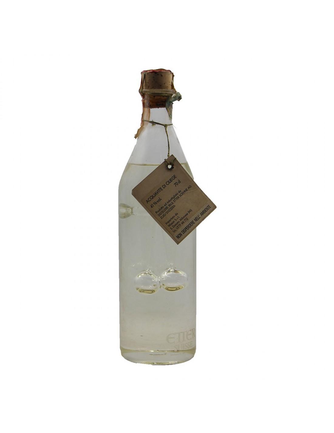 ACQUAVITE DI CILIEGE 70CL NV PAUL ETTER Grandi Bottiglie