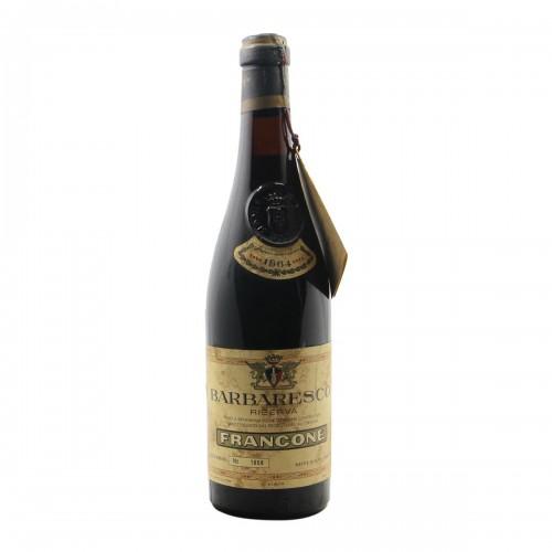 BARBARESCO RISERVA 1964 FRANCONE Grandi Bottiglie