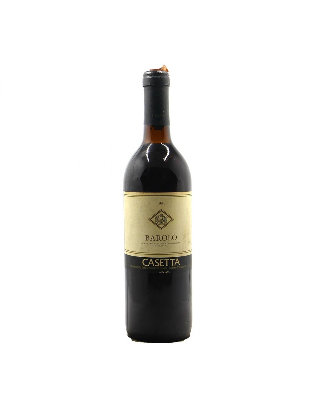 BAROLO 1984 CASETTA Grandi Bottiglie