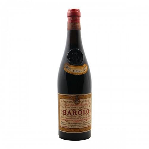 BAROLO TENUTA CANUBIO 1962 DAMILANO Grandi Bottiglie
