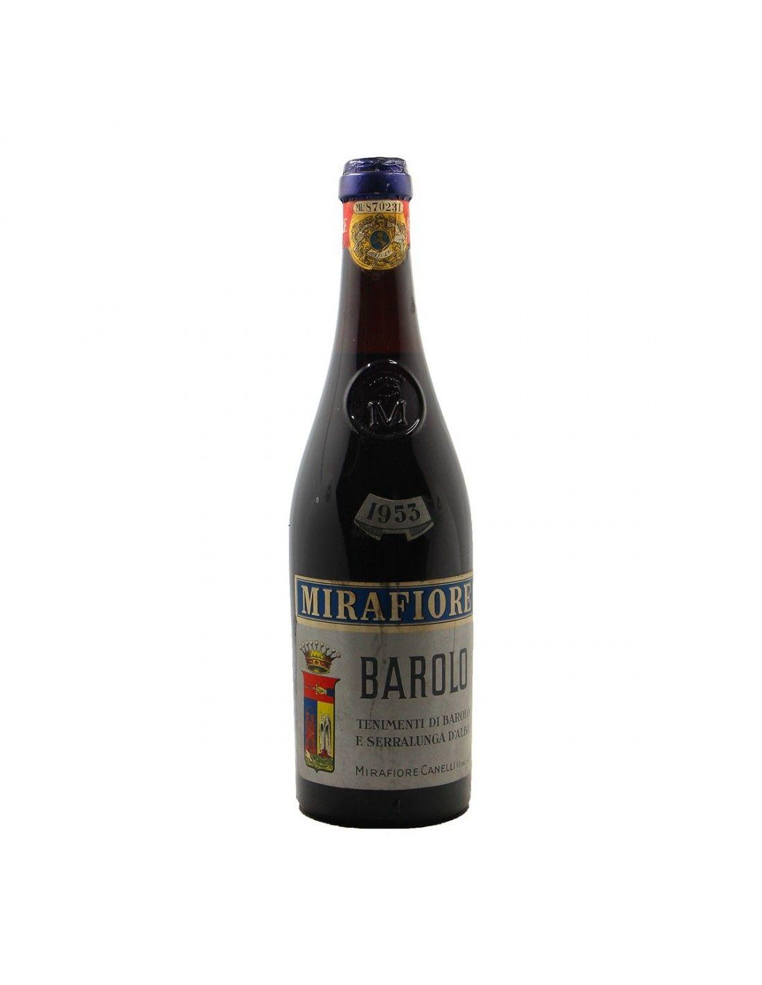 Barolo 1953 MIRAFIORE GRANDI BOTTIGLIE